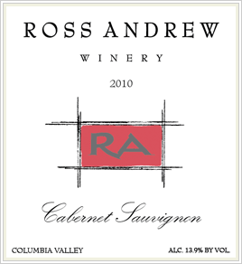 2010 Columbia Valley Cabernet Sauvignon - Ross Andrew Winery