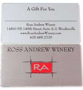 Ross Andrew Winery - Gift Cards