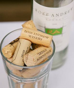 Ross Andrew Winery corks